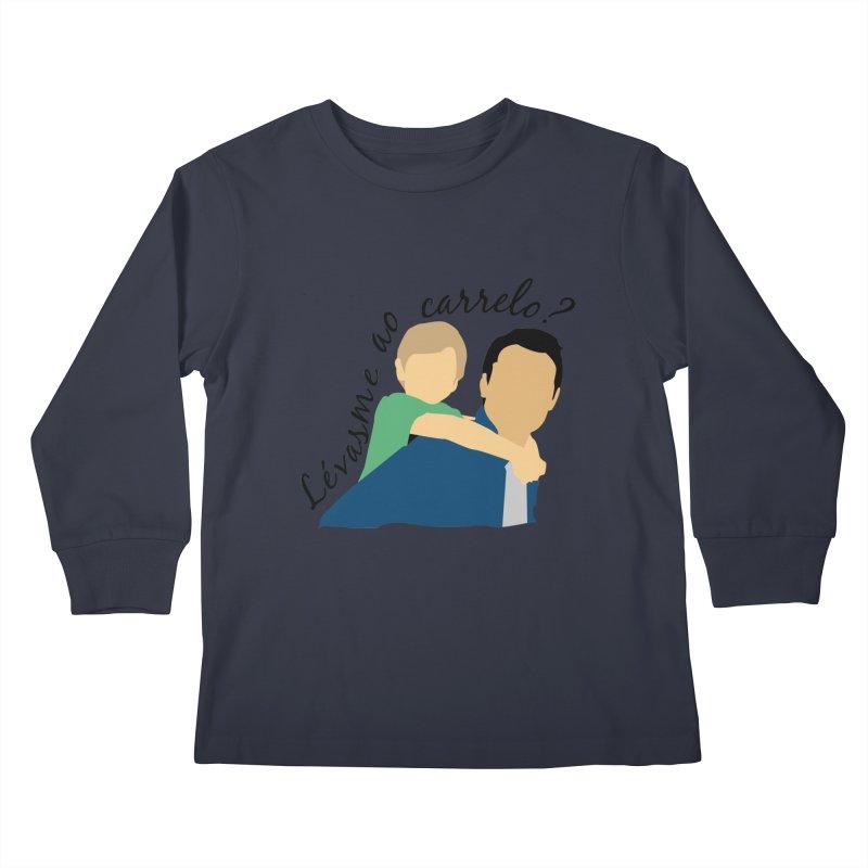 Lévasme ao carrelo? Kids Longsleeve T-Shirt by peregraphs's Artist Shop