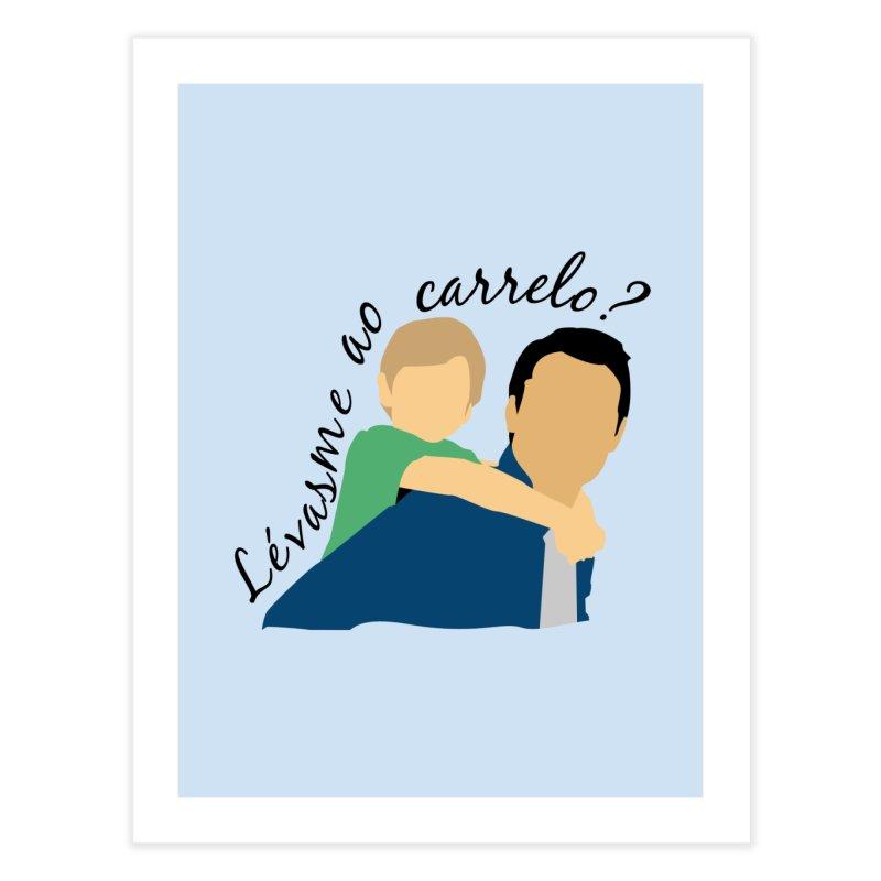 Lévasme ao carrelo? Home Fine Art Print by peregraphs's Artist Shop