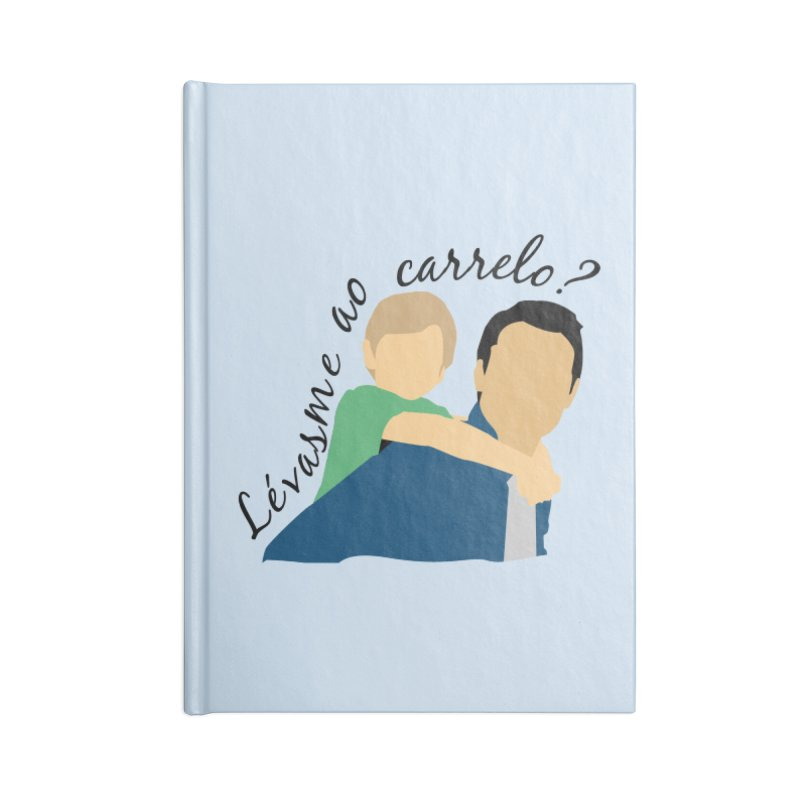 Lévasme ao carrelo? Accessories Blank Journal Notebook by peregraphs's Artist Shop