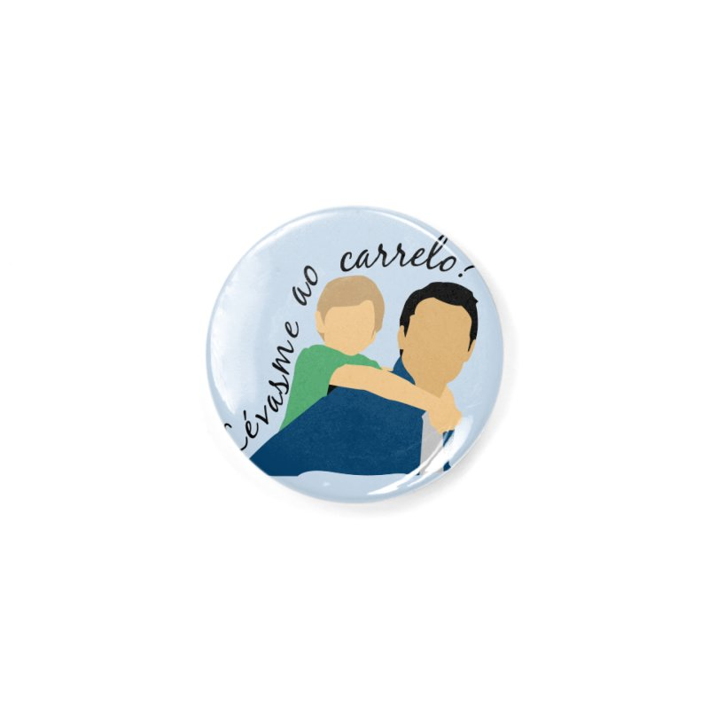 Lévasme ao carrelo? Accessories Button by peregraphs's Artist Shop