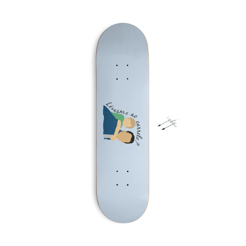 Lévasme ao carrelo? Accessories With Hanging Hardware Skateboard by peregraphs's Artist Shop