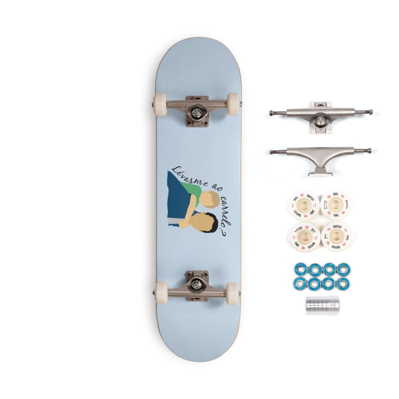 Lévasme ao carrelo? Accessories Complete - Premium Skateboard by peregraphs's Artist Shop