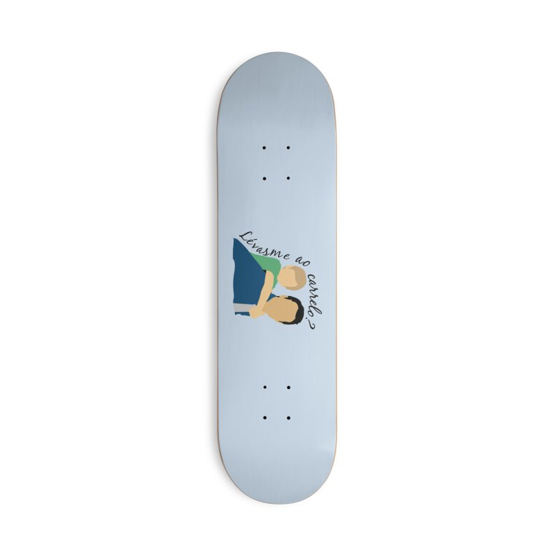Lévasme ao carrelo? Accessories Deck Only Skateboard by peregraphs's Artist Shop