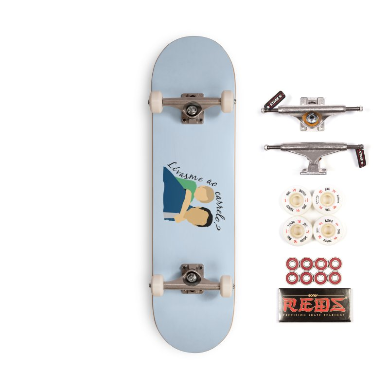 Lévasme ao carrelo? Accessories Skateboard by peregraphs's Artist Shop