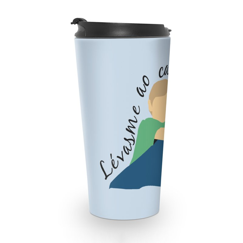 Lévasme ao carrelo? Accessories Travel Mug by peregraphs's Artist Shop