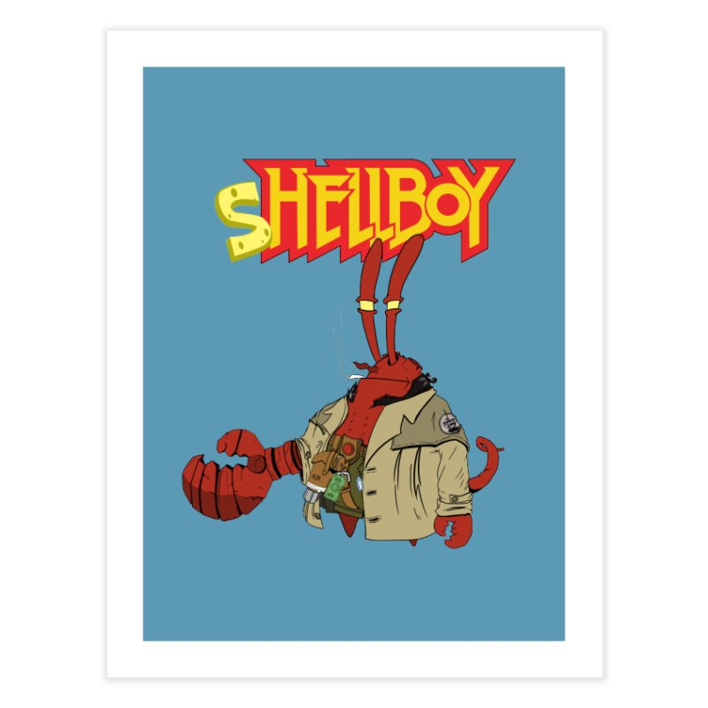 Shellboy Home Fine Art Print by peregraphs's Artist Shop
