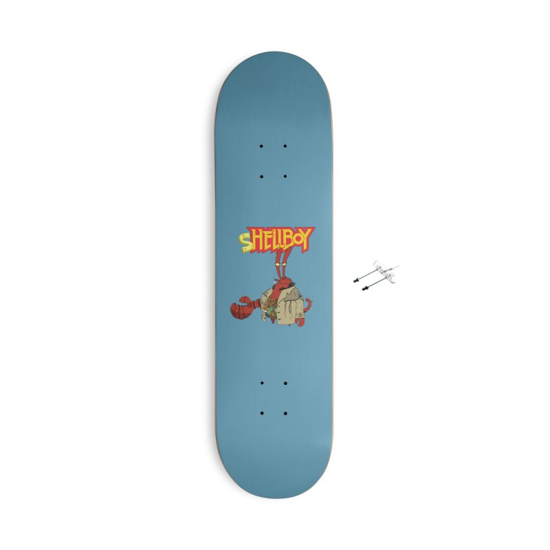 Shellboy Accessories With Hanging Hardware Skateboard by peregraphs's Artist Shop