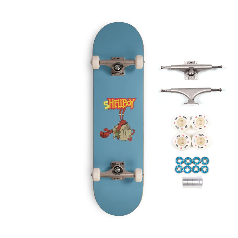 Shellboy Accessories Complete - Premium Skateboard by peregraphs's Artist Shop