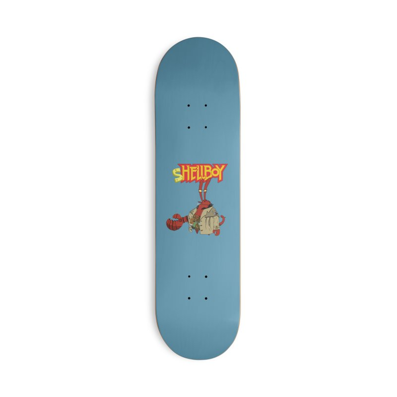 Shellboy Accessories Deck Only Skateboard by peregraphs's Artist Shop
