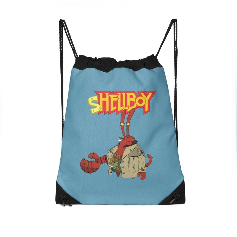 Shellboy Accessories Drawstring Bag Bag by peregraphs's Artist Shop