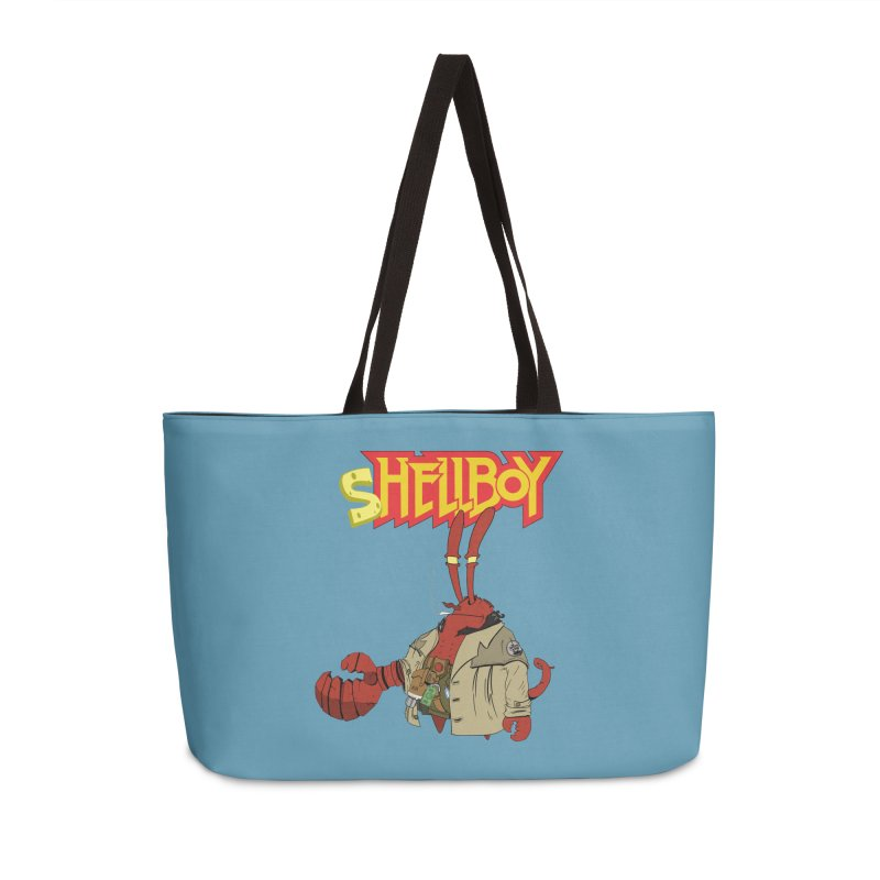 Shellboy Accessories Weekender Bag Bag by peregraphs's Artist Shop