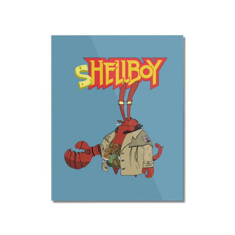 Shellboy Home Mounted Acrylic Print by peregraphs's Artist Shop