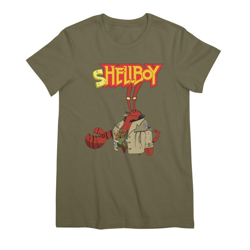 Shellboy Women's Premium T-Shirt by peregraphs's Artist Shop