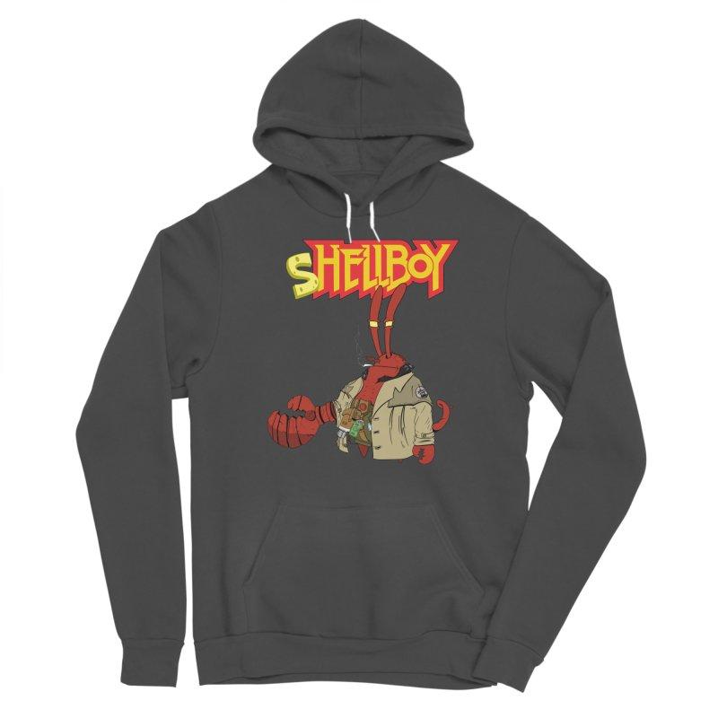 Shellboy Women's Sponge Fleece Pullover Hoody by peregraphs's Artist Shop