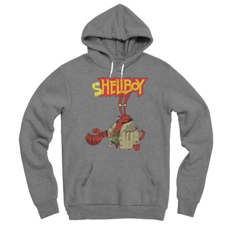 Shellboy Men's Sponge Fleece Pullover Hoody by peregraphs's Artist Shop