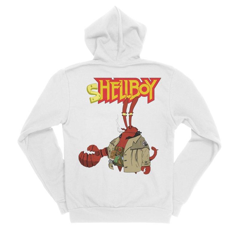 Shellboy Men's Zip-Up Hoody by peregraphs's Artist Shop