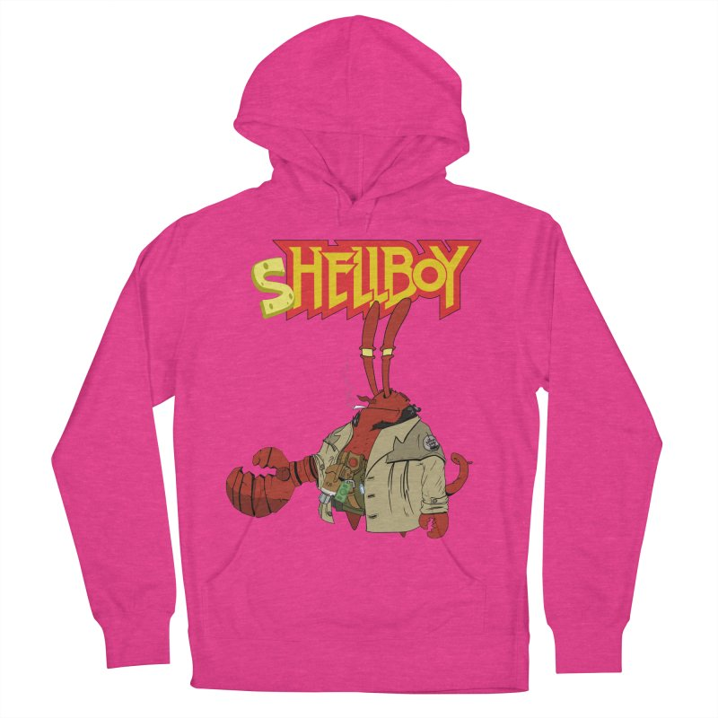 Shellboy Women's French Terry Pullover Hoody by peregraphs's Artist Shop