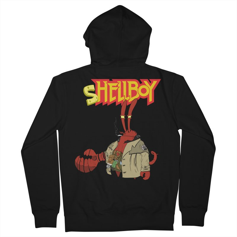 Shellboy Women's French Terry Zip-Up Hoody by peregraphs's Artist Shop