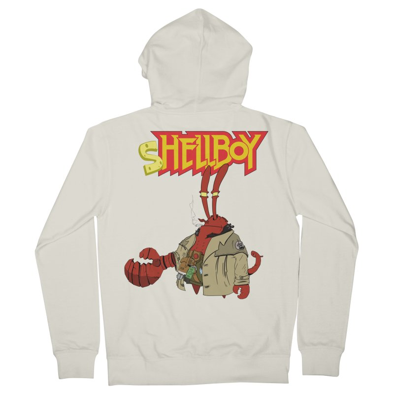 Shellboy Men's Zip-Up Hoody by peregraphs's Artist Shop