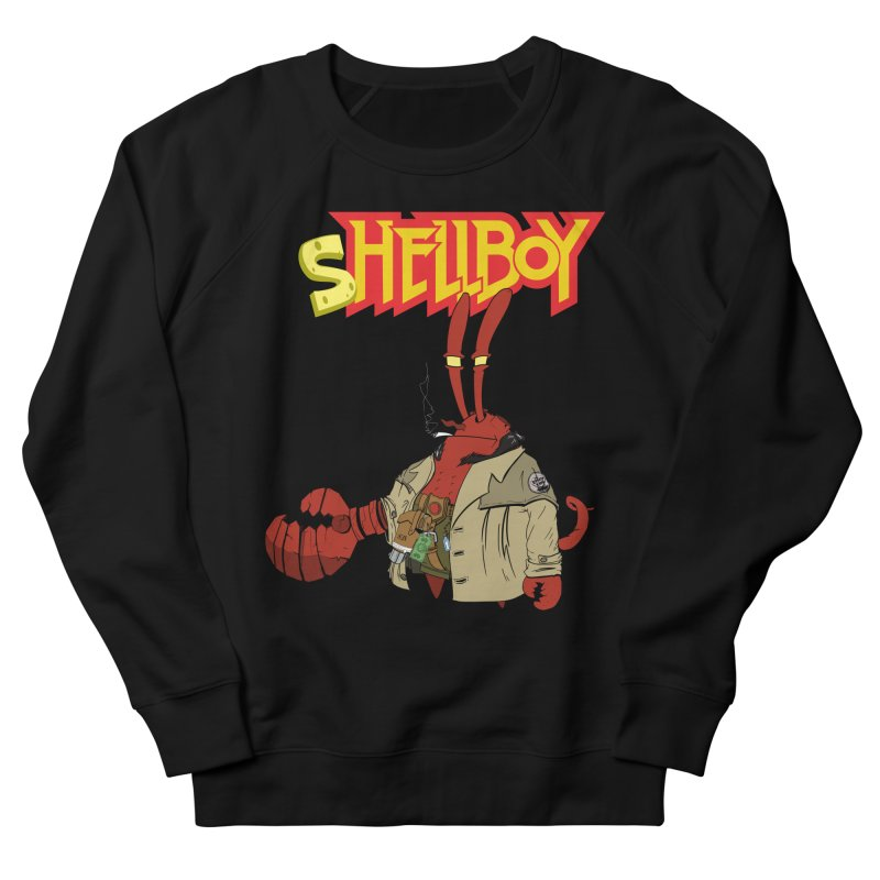 Shellboy Women's French Terry Sweatshirt by peregraphs's Artist Shop