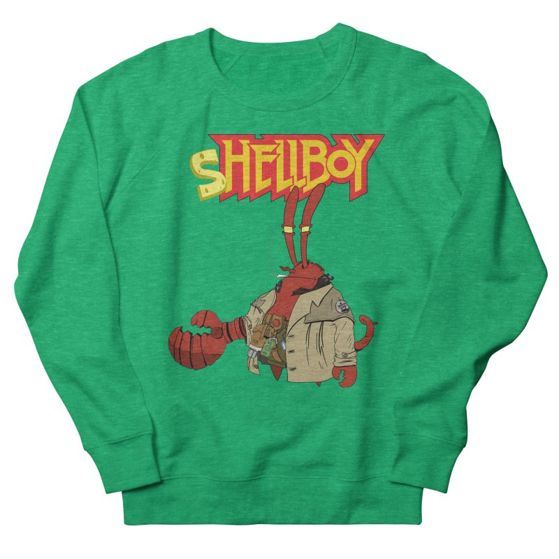 Shellboy Men's French Terry Sweatshirt by peregraphs's Artist Shop