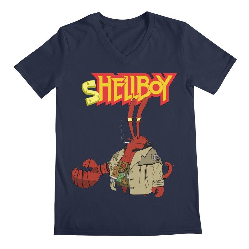 Shellboy Men's V-Neck by peregraphs's Artist Shop
