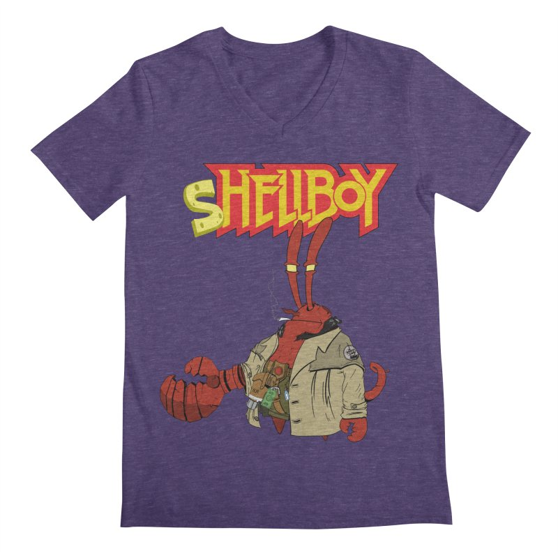 Shellboy Men's V-Neck by peregraphs's Artist Shop