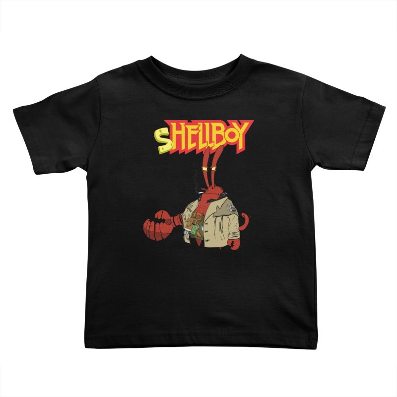 Shellboy Kids Toddler T-Shirt by peregraphs's Artist Shop