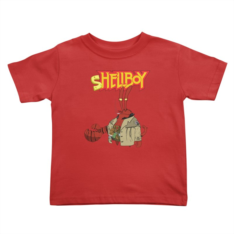 Shellboy Kids Toddler T-Shirt by peregraphs's Artist Shop