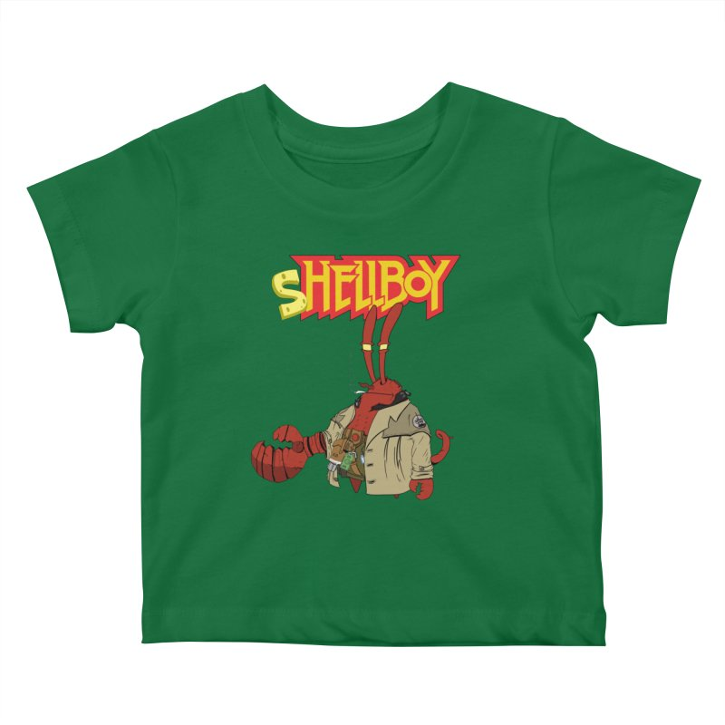 Shellboy Kids Baby T-Shirt by peregraphs's Artist Shop