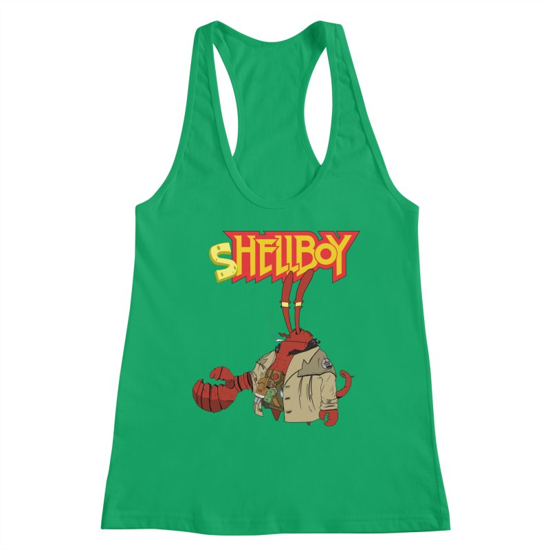 Shellboy Women's Racerback Tank by peregraphs's Artist Shop
