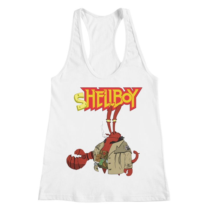 Shellboy Women's Racerback Tank by peregraphs's Artist Shop