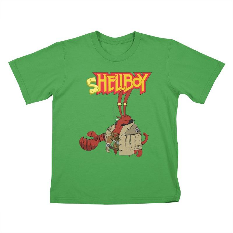 Shellboy Kids T-Shirt by peregraphs's Artist Shop