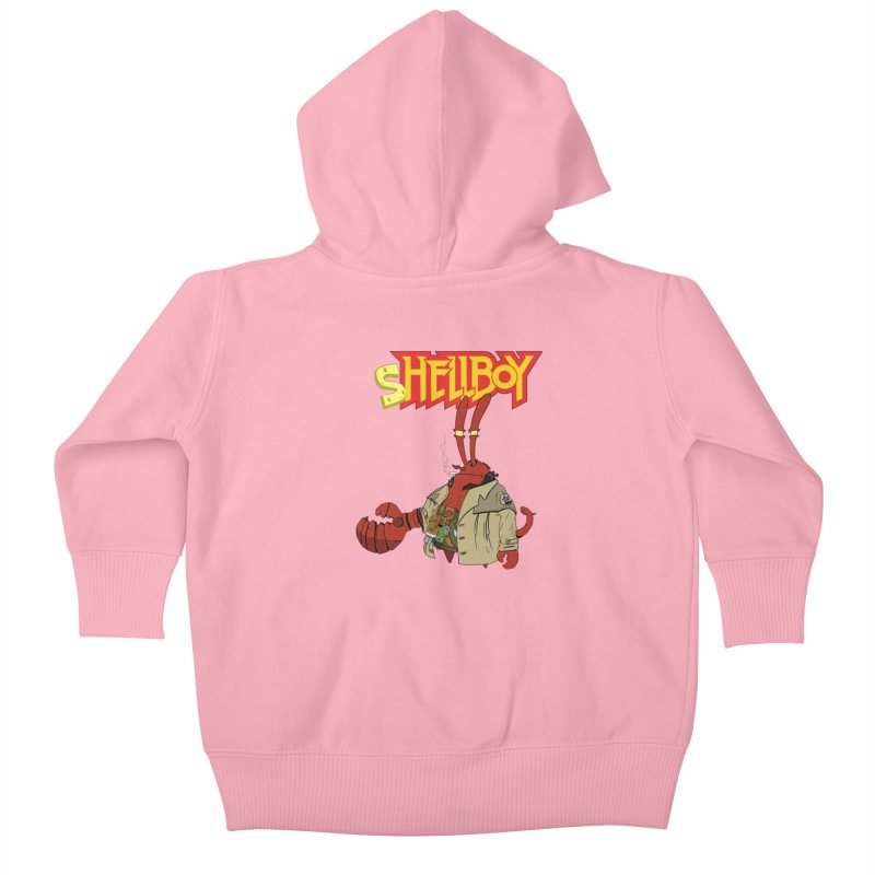 Shellboy Kids Baby Zip-Up Hoody by peregraphs's Artist Shop