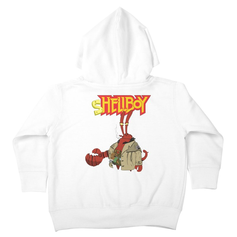 Shellboy Kids Toddler Zip-Up Hoody by peregraphs's Artist Shop
