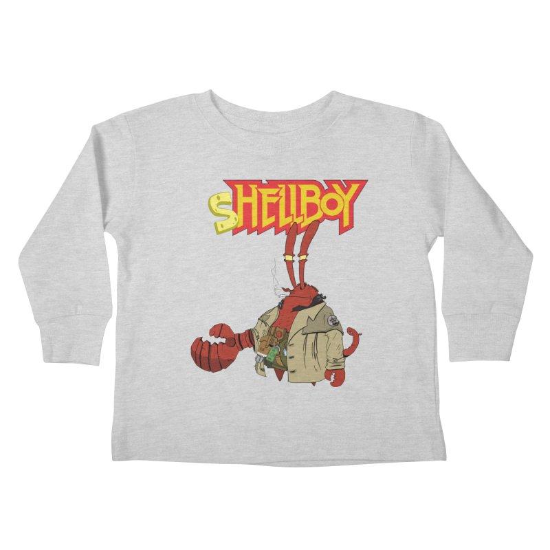 Shellboy Kids Toddler Longsleeve T-Shirt by peregraphs's Artist Shop