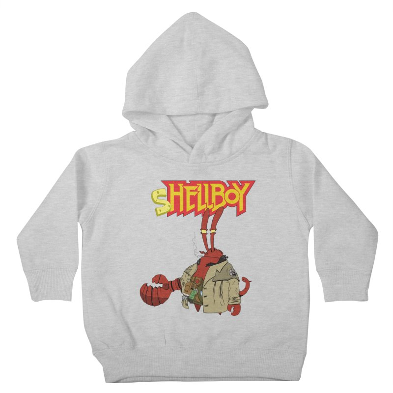 Shellboy Kids Toddler Pullover Hoody by peregraphs's Artist Shop