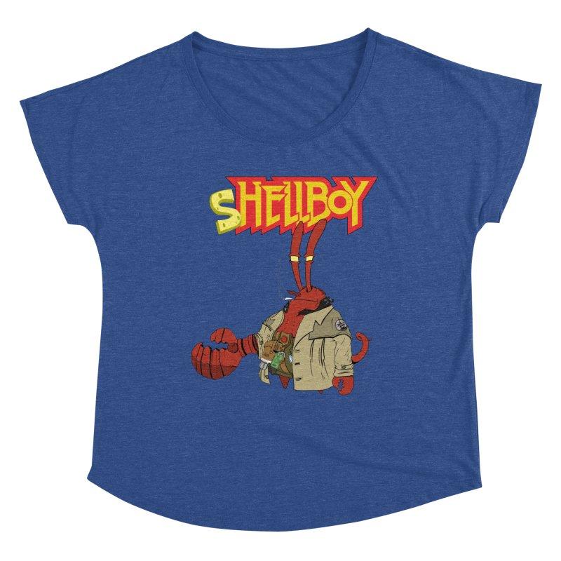 Shellboy Women's Scoop Neck by peregraphs's Artist Shop