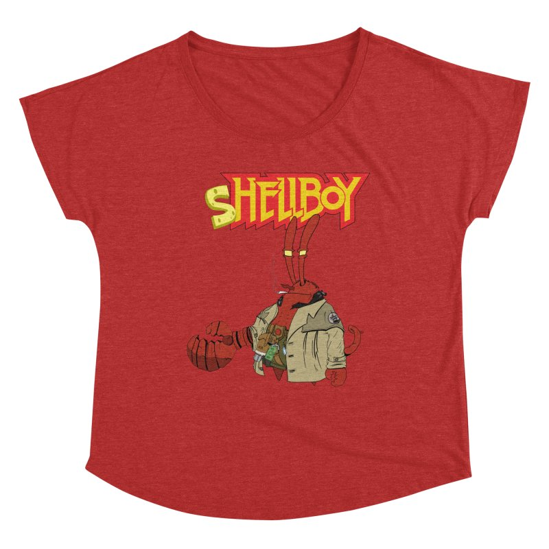 Shellboy Women's Scoop Neck by peregraphs's Artist Shop