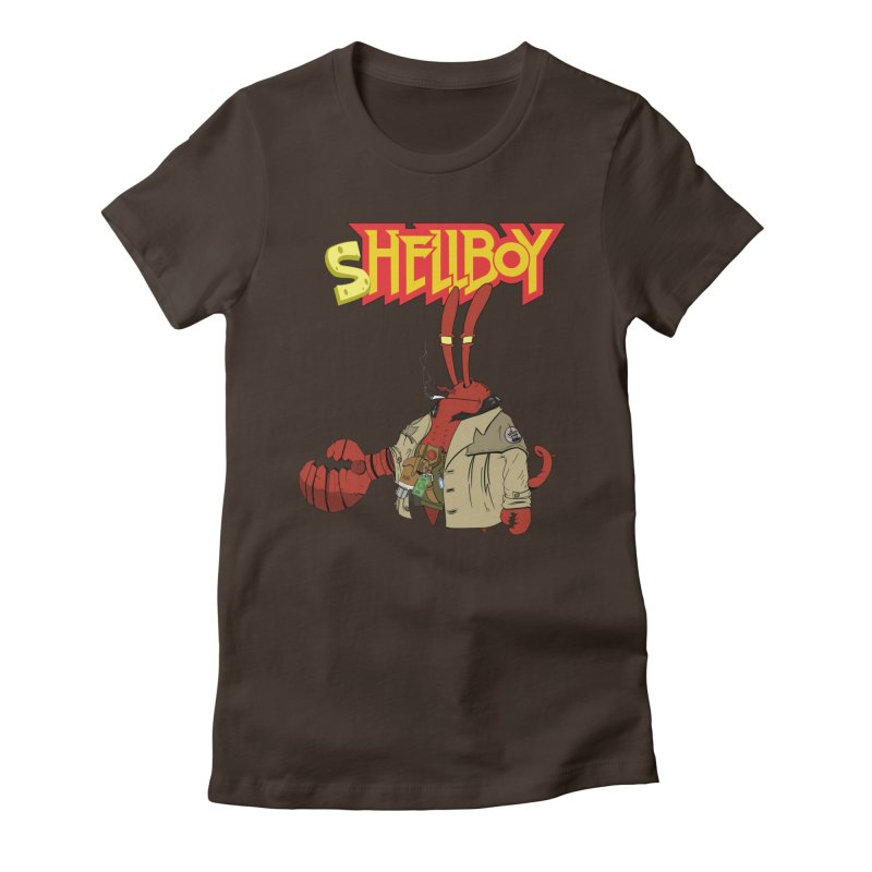 Shellboy Women's Fitted T-Shirt by peregraphs's Artist Shop