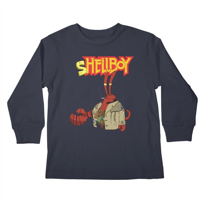 Shellboy Kids Longsleeve T-Shirt by peregraphs's Artist Shop