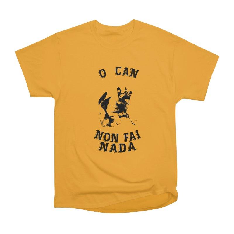 O can non fai nada Men's Heavyweight T-Shirt by peregraphs's Artist Shop