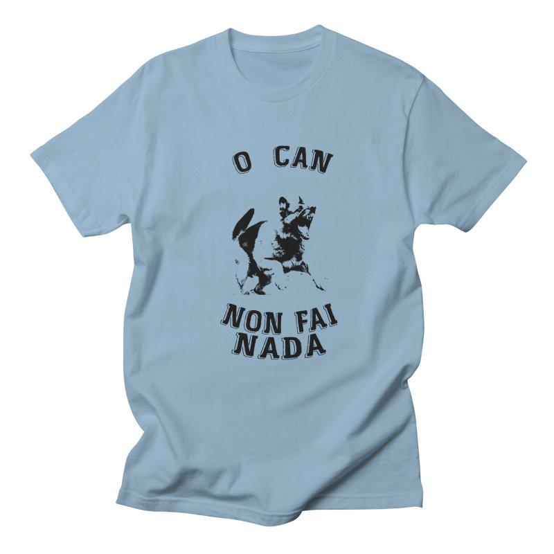 O can non fai nada Men's Regular T-Shirt by peregraphs's Artist Shop