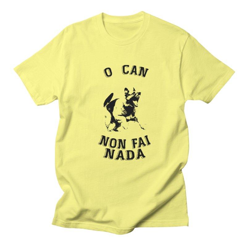 O can non fai nada Men's T-Shirt by peregraphs's Artist Shop