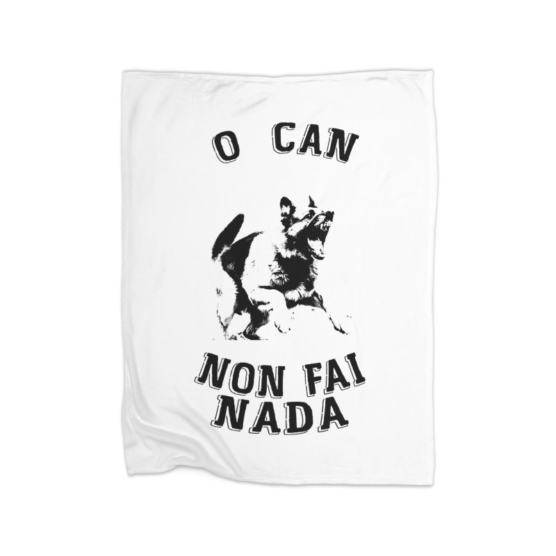 O can non fai nada Home Fleece Blanket Blanket by peregraphs's Artist Shop