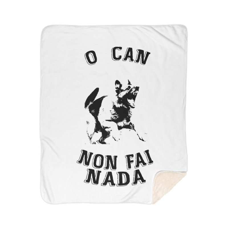 O can non fai nada Home Sherpa Blanket Blanket by peregraphs's Artist Shop