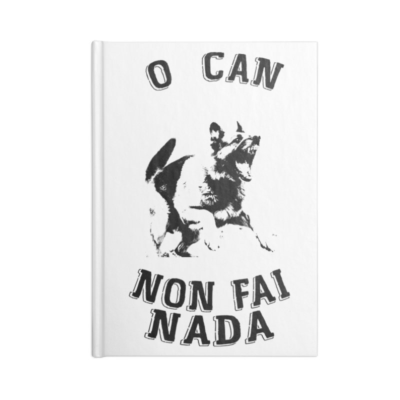 O can non fai nada Accessories Lined Journal Notebook by peregraphs's Artist Shop