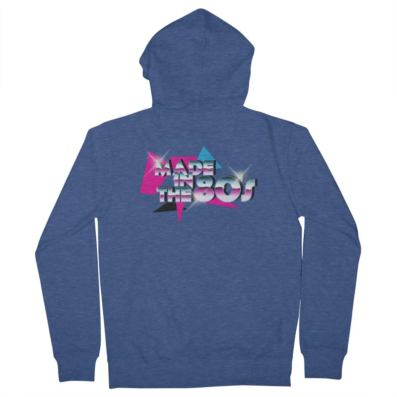 Made in the 80's Men's Zip-Up Hoody by peregraphs's Artist Shop
