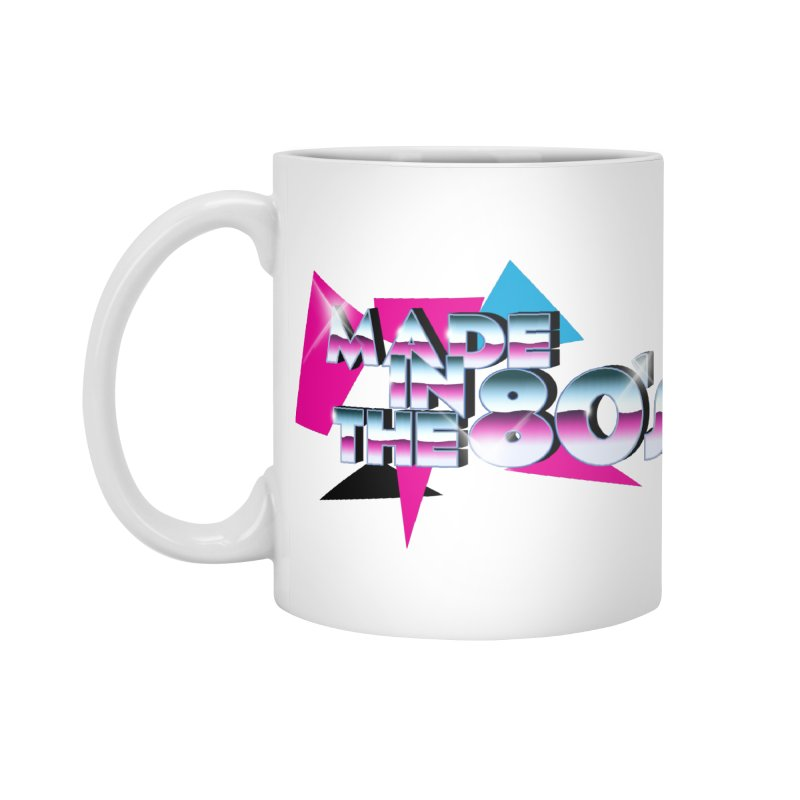 Made in the 80's Accessories Standard Mug by peregraphs's Artist Shop