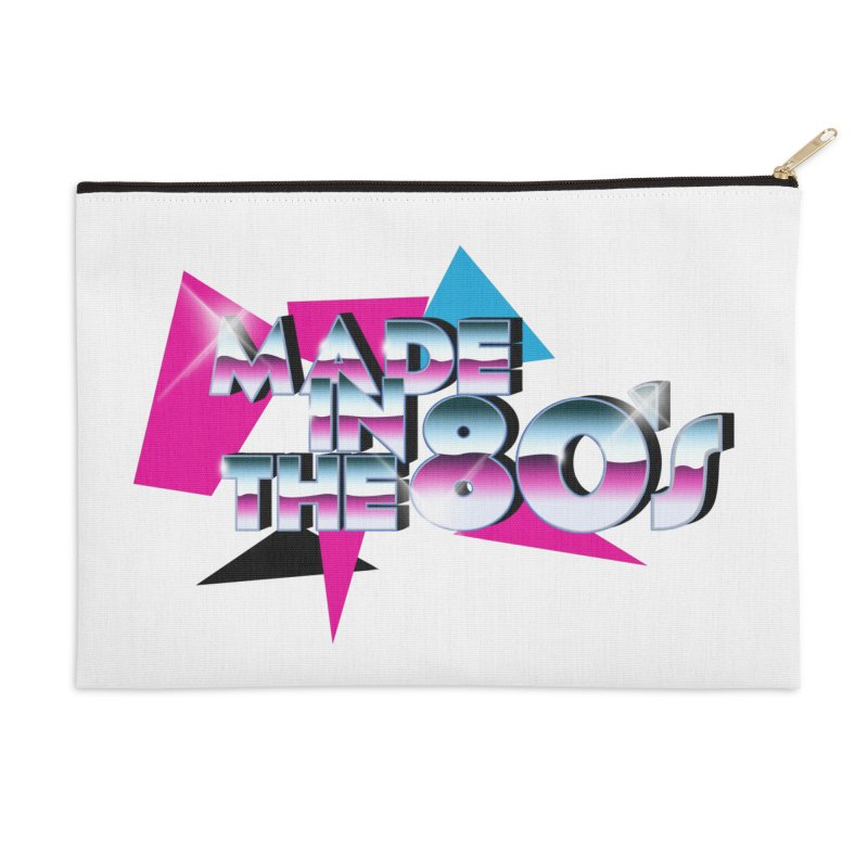 Made in the 80's Accessories Zip Pouch by peregraphs's Artist Shop
